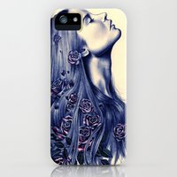 iPhone 5s & iPhone 5 Cases featuring Bloom by KatePowellArt