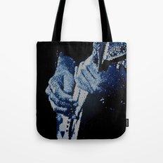 Mosaic Blues Tote Bag