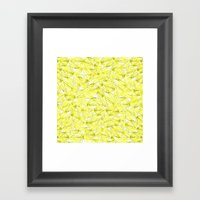 Summer Bamboo Framed Art Print