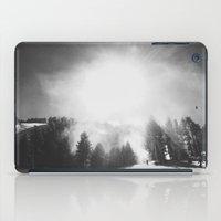 Blowing Snow iPad Case