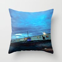 A horse. Throw Pillow