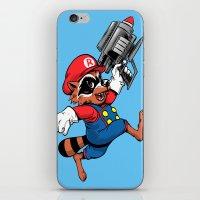 Super Rocket iPhone & iPod Skin