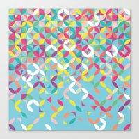 Giddy Geometric Canvas Print
