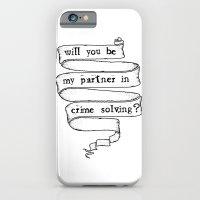 Partner in crime solving iPhone 6 Slim Case