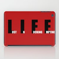 this is the life iPad Case