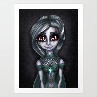 Endora Art Print