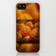 Halloween Pumpkins iPhone (5, 5s) Slim Case