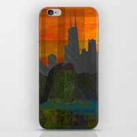 Sunset City (Chicago) iPhone & iPod Skin