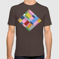 Map 45 Mens Fitted Tee Brown SMALL