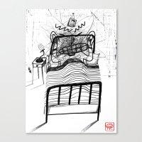 Can't Sleep Canvas Print