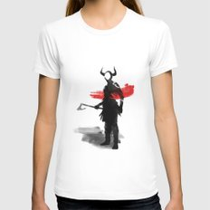 Viking Womens Fitted Tee White SMALL