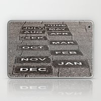 Calendar Walk Laptop & iPad Skin