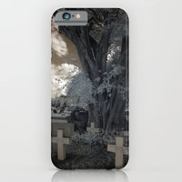 iPhone & iPod Case featuring Quad Crossed by Cemetery Prints Inc.