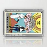 The Lovers - Tarot Card Laptop & iPad Skin
