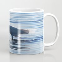 Great Egret Catch Mug