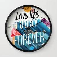 Everything Forever Wall Clock