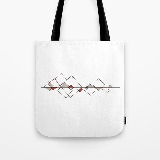 #413 Sunken city – Geometry Daily Tote Bag