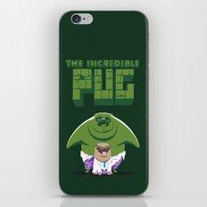The Incredible Pug iPhone & iPod Skin