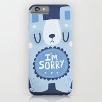I'm Sorry Blue Bear  iPhone 6 Slim Case