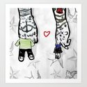 Inkling of Love  Art Print