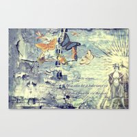 Life Is A Circus Canvas Print
