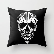 MUSICAL SKULL Throw Pillow