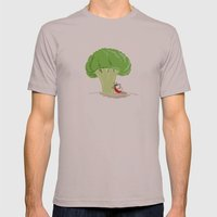 Cauliflower Tree Mens Fitted Tee Cinder SMALL