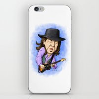 Stevie Ray Vaughan iPhone & iPod Skin