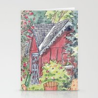 Sunshowers Stationery Cards