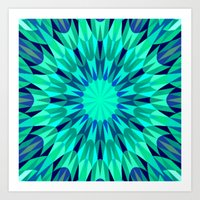 teal Art Prints featuring Teal. by 2sweet4words Designs