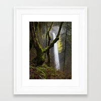 Latourell Winter Framed Art Print
