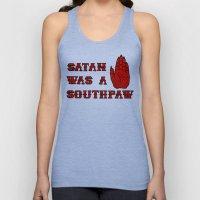 Satan Was A Southpaw Unisex Tank Top