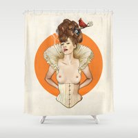 Miss Virginia Shower Curtain