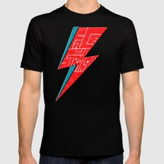 Face The Strange SMALL Mens Fitted Tee Black