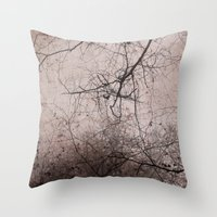 SILENT FOREST 3 Throw Pillow