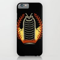 iPhone & iPod Case featuring black caterpillar by barmalisiRTB
