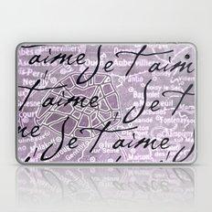 Je t'aime, Paris! Laptop & iPad Skin