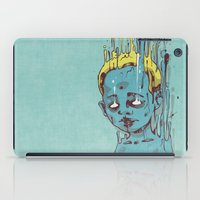 The Blue Boy with Golden Hair iPad Case
