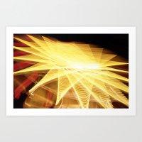 Filament Star Art Print