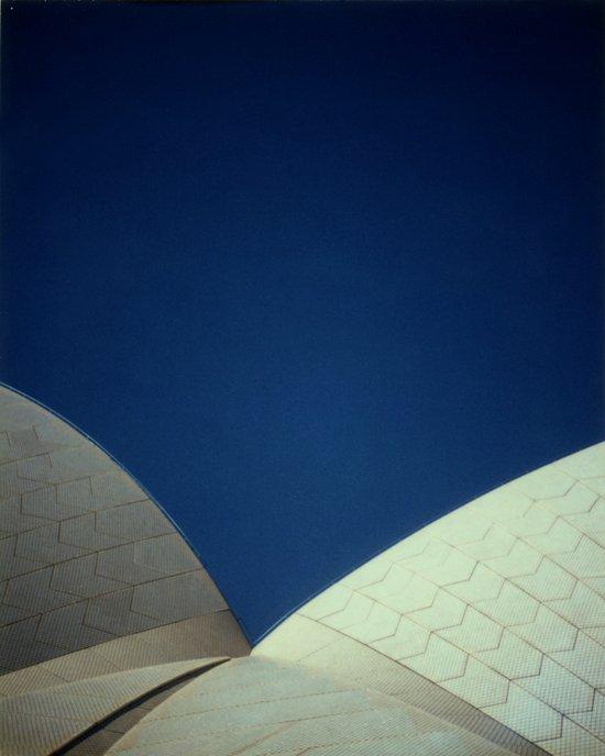 Opera House Polaroid Art Print