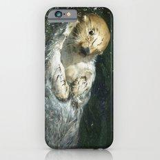 Drifting Away - Sea Otter iPhone 6 Slim Case