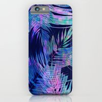iPhone & iPod Case featuring Waikiki Tropic {Blue} by Schatzi Brown