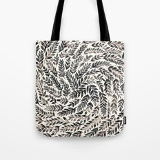 Black Branches Tote Bag