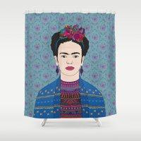 Frida Kahlo Shower Curtain
