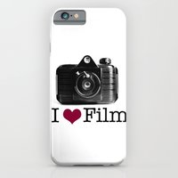 iPhone & iPod Case featuring I ♥ Film by istillshootfilm