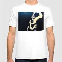 Valiant By D. Porter Mens Fitted Tee White SMALL