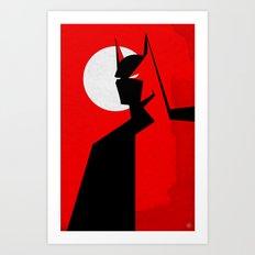 Beware! Art Print