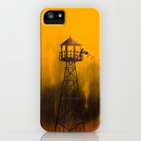iPhone Cases featuring Autumn Tower by Timone