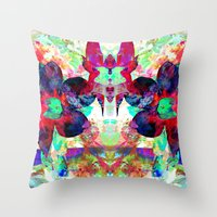 Overgrowth Throw Pillow