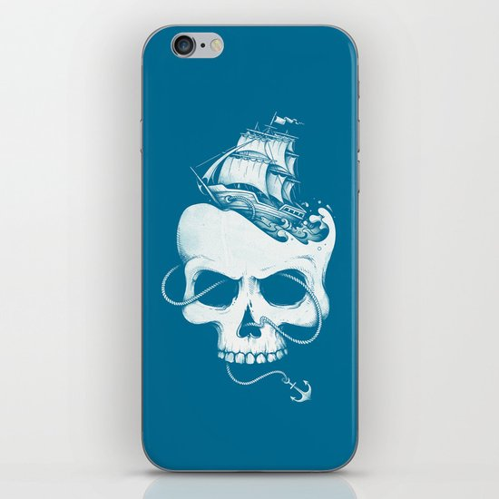 Sailing the Dead Sea iPhone & iPod Skin